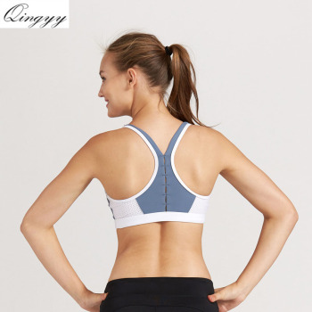 Running Sports Bras women's mesh back bra beauty rims shock-free yoga breathable underwear