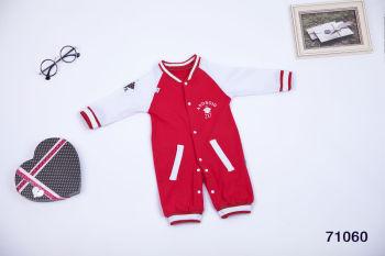Xin Bao Yuan Autumn new trendy baseball clothing baby pure cotton Siamese Clothes