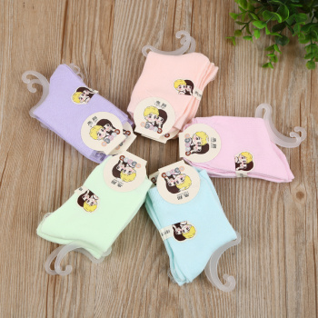 2017 new combed cotton children socks with cotton socks