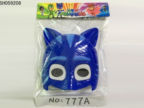New Disney hooded Pajamas cats children funny mask with light music