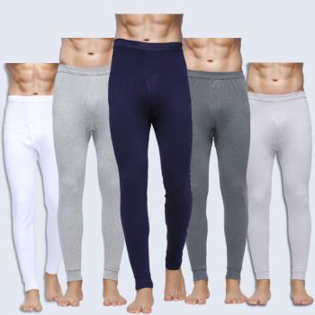 Factory Outlet men's cotton trousers slim cotton Leggings for fall/winter men's long Johns old trousers pants