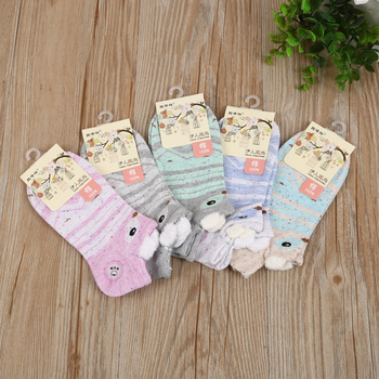2017 New women socks socks low socks comfort cartoon cotton socks