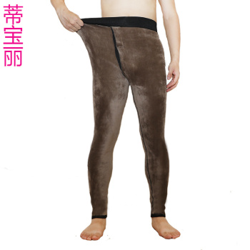 480g code: 180-260 pounds of men's extra large plus fertilizer high waist plus fleece pants waist warm pants