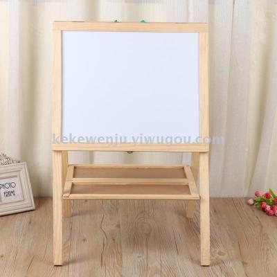 supply creative children wooden chalkboard message board two sided