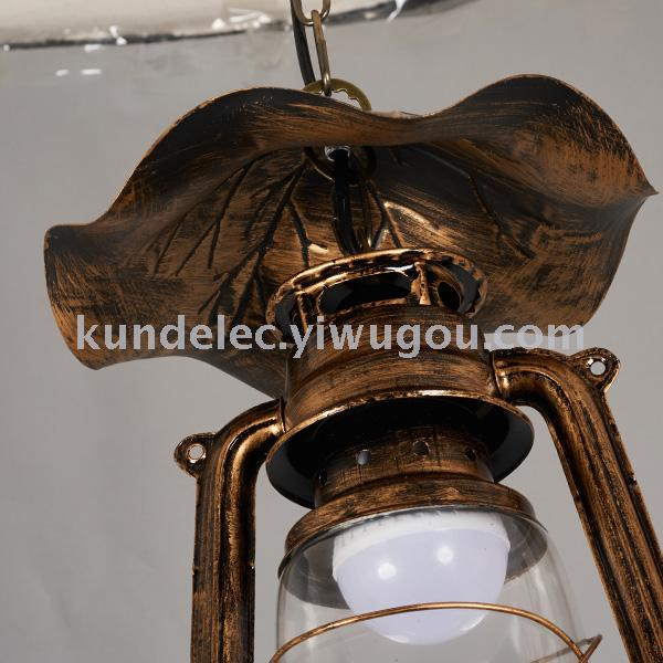仿真蜡烛灯古典欧式蜡烛灯仿古马灯复古油灯欧式提灯