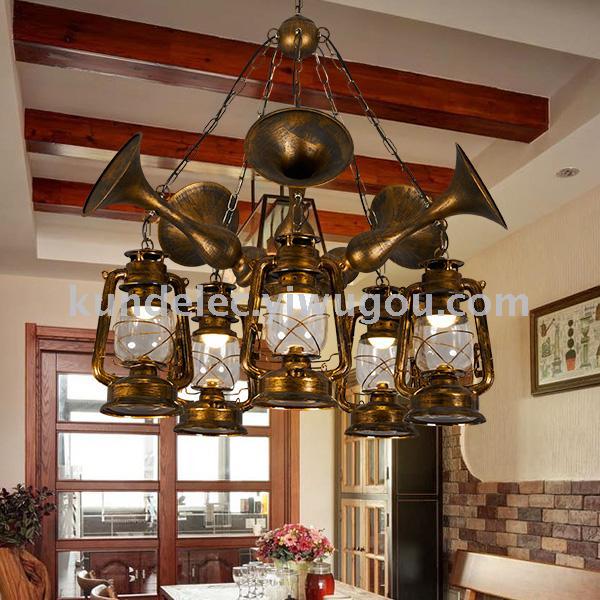 仿古马灯仿真蜡烛灯古典欧式蜡烛灯复古油灯欧式提灯