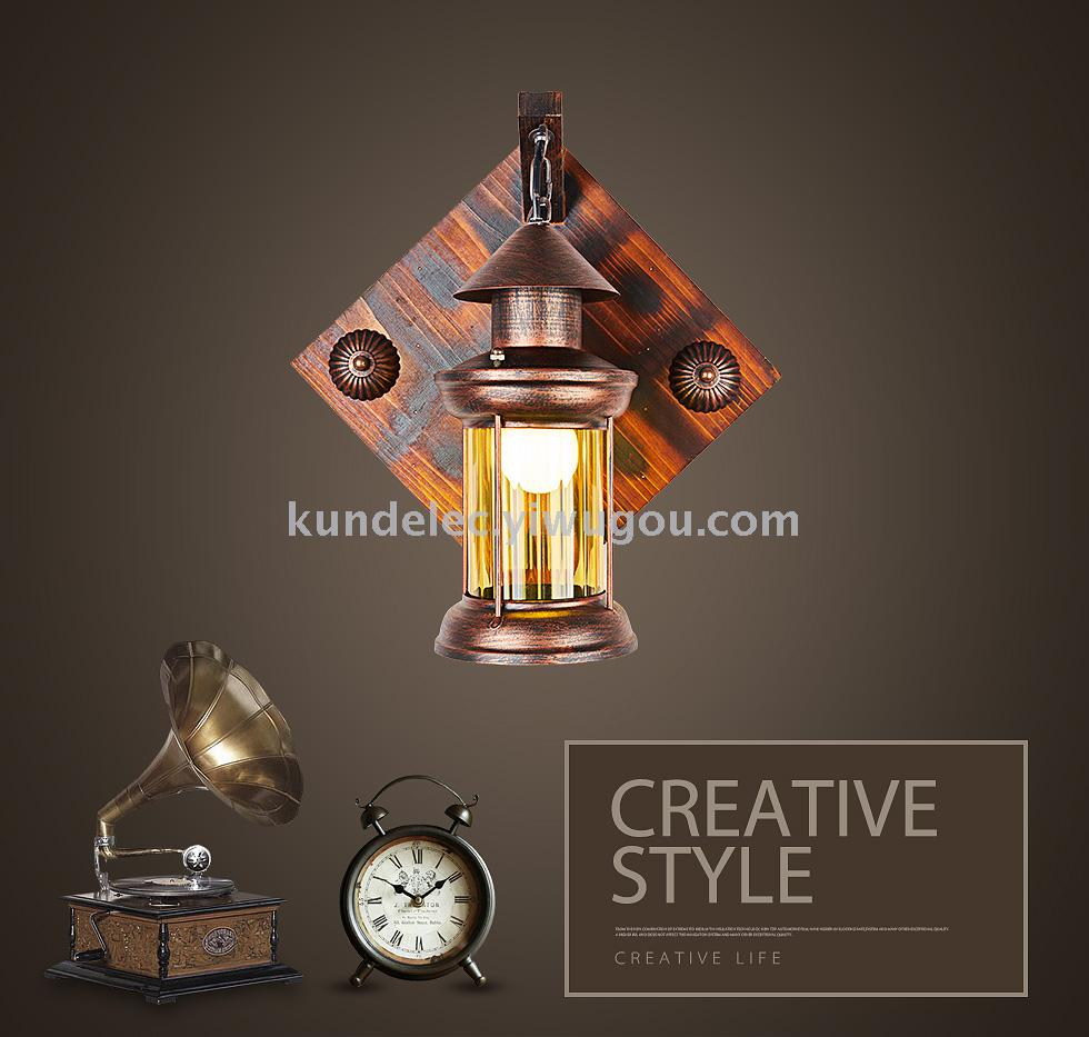 Supply Simulation Candle Lamp Wall Lantern Vintage Oil Wiring A With Earth Wire Clip Copper Clamp B