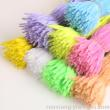 Wavy hair roots twist Rod color plush DIY crafting material