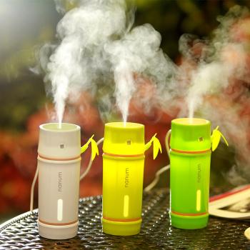 Bamboo humidifier lamp Air Purifier car nebulizer literary natural gifts