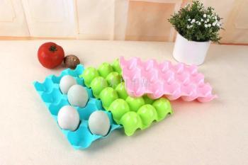 15 egg storage box fridge shatterproof egg egg tray box