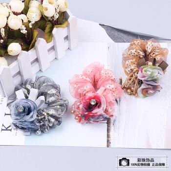 Flower hair tie rope head hair accessories hair band hair band hair jewelry