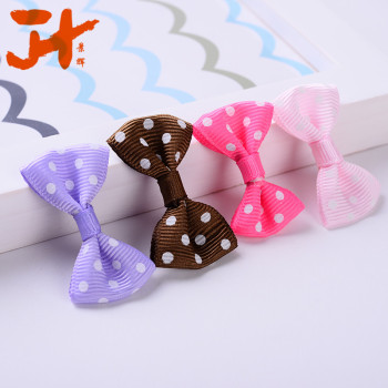 Dot thread baby bow-Indian point thread bow DIY jewelry apparel accessories wholesale manufacturers