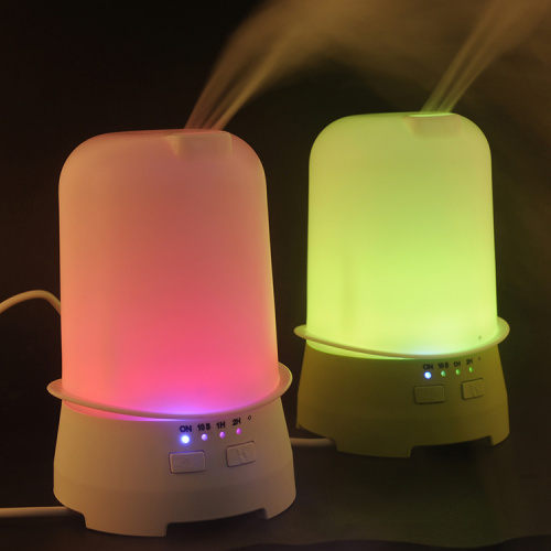 Top hat Multicolor light humidifier ultrasonic aromatherapy diffuser Air Purifier spray Tester