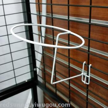 The big white hat hook dip net hat stand support mesh hook hook