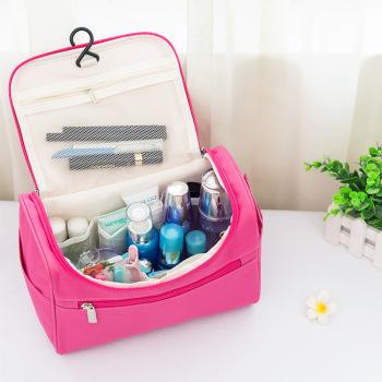 Portable fashion simple bulk travel wash bag Oxford cloth waterproof portable storage bag