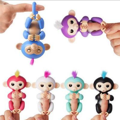 New smart colorful fingers monkey children toys finger monkey toys electronic smart touch finger monkey manufacturers