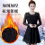 Good fall and winter clothing women's clothing 2017 new Korean version end of stitching lace and velvet dress
