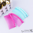 Plug-in simple temperament bangs combed hair comb hair ornament with teeth issue headdress