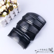 Acrylic elastic large dense fork plug plug the large tooth comb comb comb comb bangs into