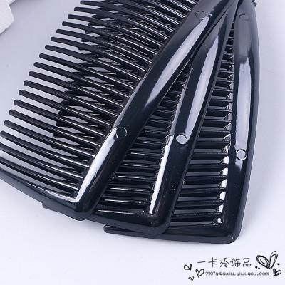 Plug-in simple comb comb tiara comb hair clip bangs hair bands top clips hair accessories