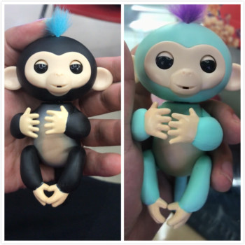Fingerlings new smart monkey toys colorful monkey fingers electronic smart touch