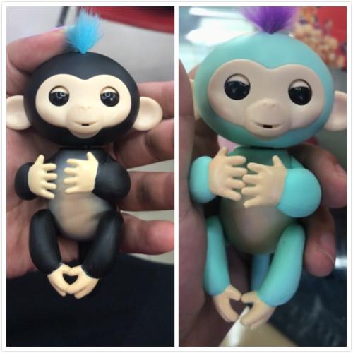 Fingerlings new smart monkey toys colorful monkey fingers electronic smart touch
