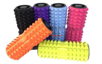 Foam rollers hollow sheet-Crescent spike muscle deep relaxation massage foam roller drum stick cross-border explosions