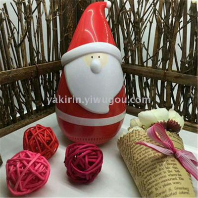 Bluetooth speakers tumbler speaker factory stock Santa Claus doll Santa with touch-voice