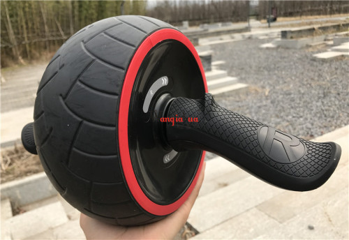 Rebound abdominal ABS-wheel rolling wheel mute fitness equipment home ladies belly reduction pulleys men's training