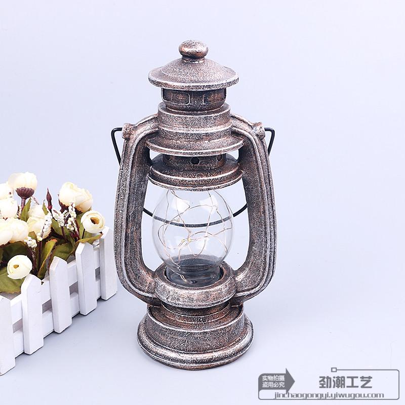 怀旧复古马灯小夜灯摆件创意家居装饰生日礼物图片