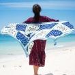 Twill-Sun flower scarf