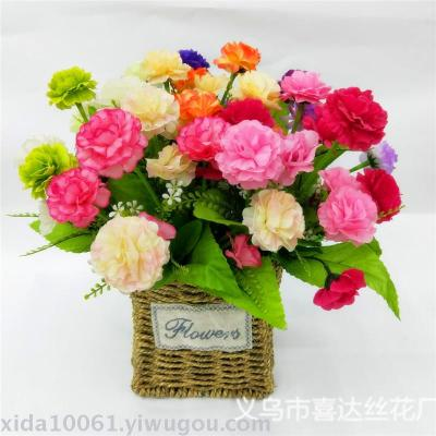 Supply artificial flower plastic flower fragrance home decoration artificial flower plastic flower fragrance home decoration flower wedding decoration flowers junglespirit Gallery