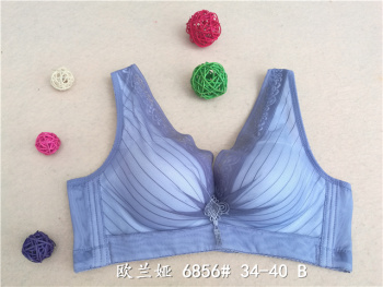 6856 free rims breathable Bras gathered in summer vest-style underwear