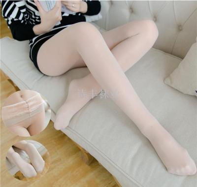 pants female extra thick pantyhose on the inside and outside of the large size of the ball does not hook silk.