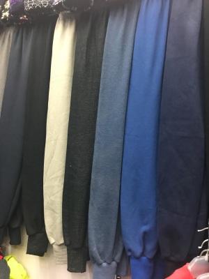Soft plush padded cotton old warm pants