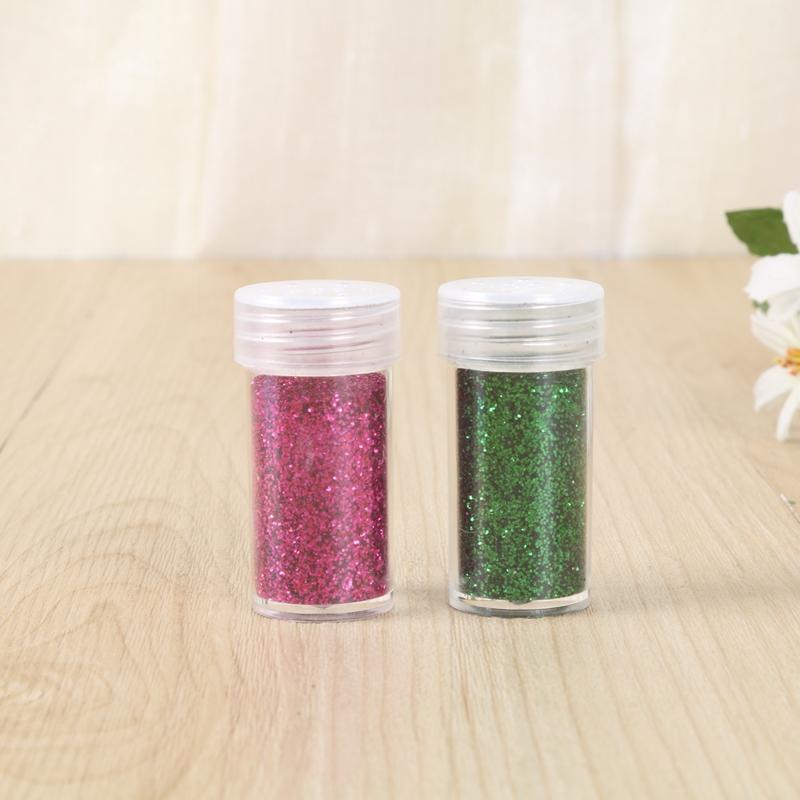 创意手工制作diy材料金葱粉瓶装闪光粉荧光粉
