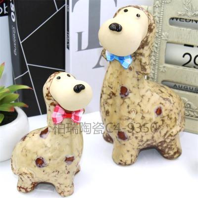 Furniture decoration crafts mother and puppies