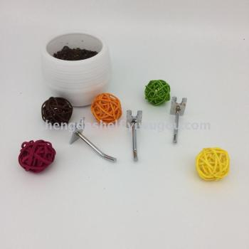 Aluminium metallic shelves for the slot of hook hook buckle plate hook Yiwu jewelry shop hook accessories hooks