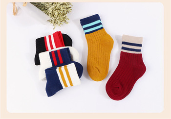 Cotton stockings explosions of two staves children socks baby sock baby socks for men and women students casual socks