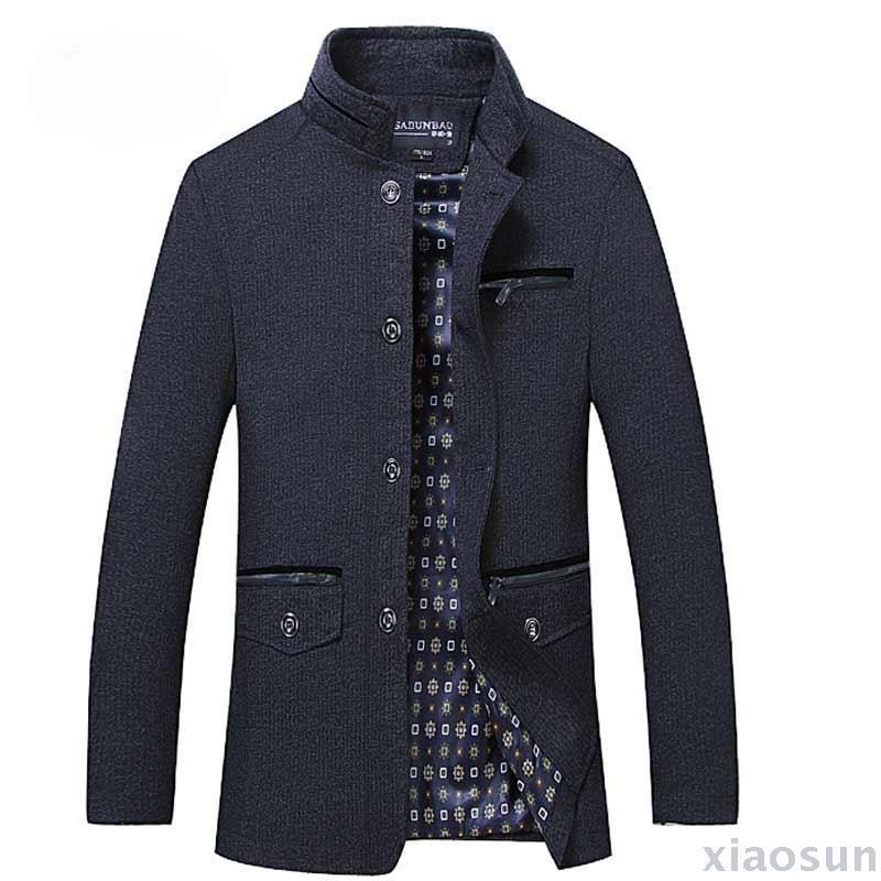 il padre di svago sottile giacca uomini giacche negli anziani di sesso maschile