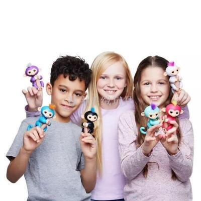 Fingerlings finger monkey vinyl of children's toys doll electronic touch sensor finger monkeys
