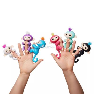 Fingerlings finger monkey vinyl of children's toys doll electronic touch sensor finger monkeys