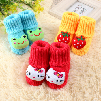 Babies baby 1 2 in autumn and winter wool socks for men