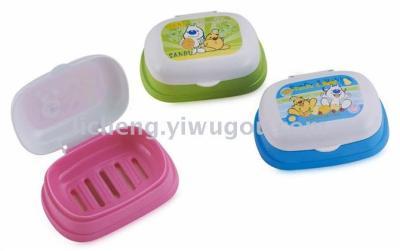 Plastic soap box A-306