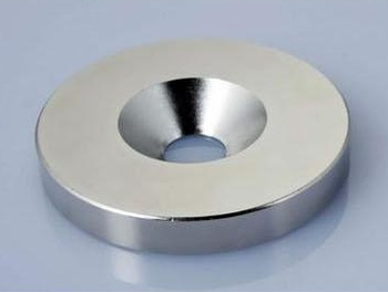 Factory direct nickel 18*4mm hole round magnet magnet