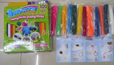 Bendaroos children's educational toys/puzzles/13-total 500 wax wax rope line