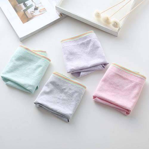 Yat Tung color waist cotton ladies briefs 601
