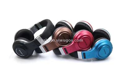 B61 Bluetooth headset Bluetooth headset pink 7 new private Wireless Binaural model movement music headphones