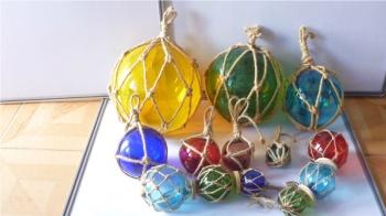 Glass Christmas ball float glass crafts