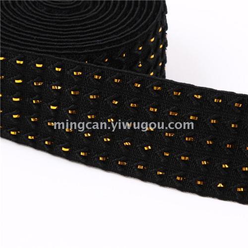 Jumper stretch elastic Jewelry Accessories metallic ribbon